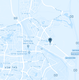 מפה גב ים נגב