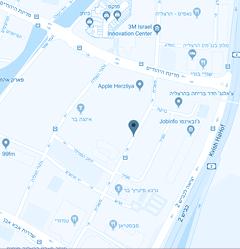 מפה גב ים מרכז הרצליה